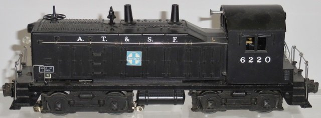 *LIONEL #6220 DIESEL SWITCHER LOCOMOTIVE - 2