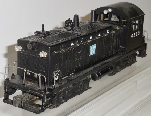 *LIONEL #6220 DIESEL SWITCHER LOCOMOTIVE - 3