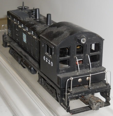 *LIONEL #6220 DIESEL SWITCHER LOCOMOTIVE - 4
