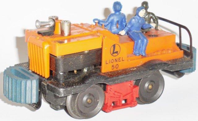 *LIONEL NO. 50 GANG CAR - 3