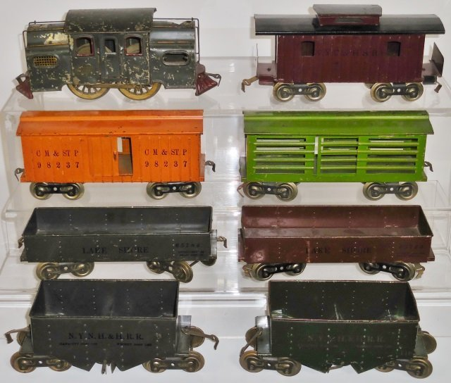 *SET OF EARLY LIONEL TRAINS