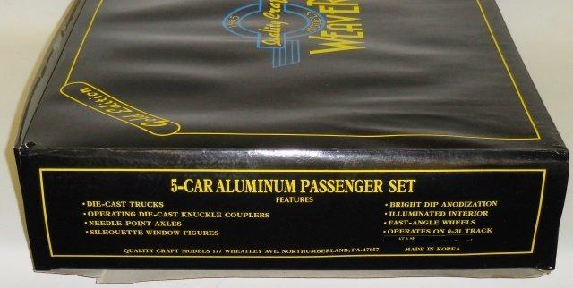 *WEAVER 5-CAR ALUMINUM PASSENGER SET - 3