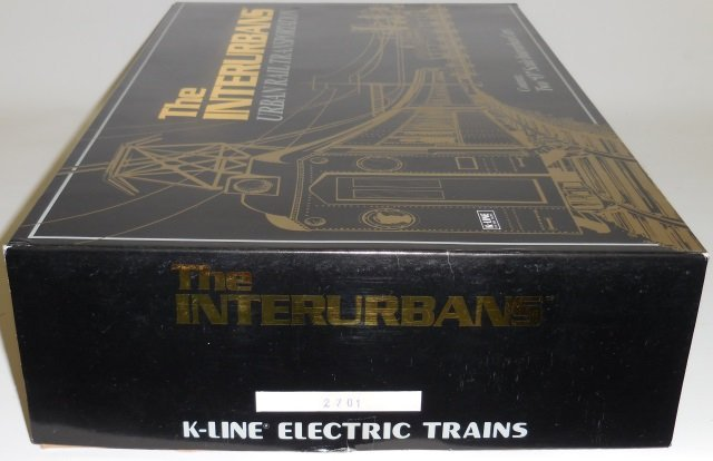 *K-LINE #2701 INTERURBANS SET - 3