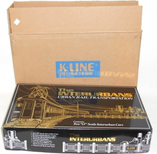 *K-LINE #2701 INTERURBANS SET - 4