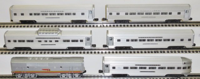 *6 PIECES OF LIONEL O GAUGE ROLLING STOCK