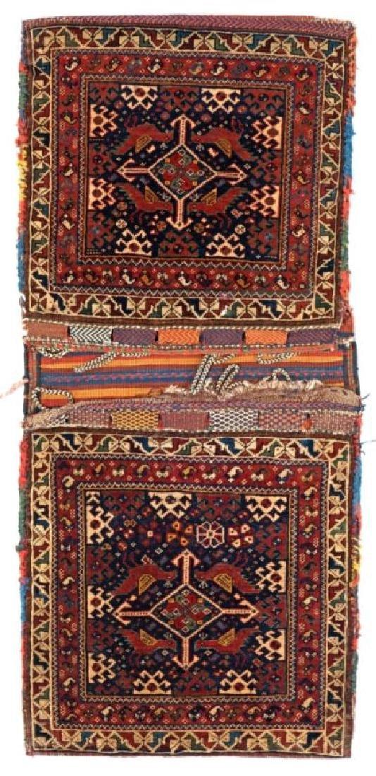 QASHQAI KHORJIN 132 x 60 cm (4ft. 4in. x 2ft.) Persia,