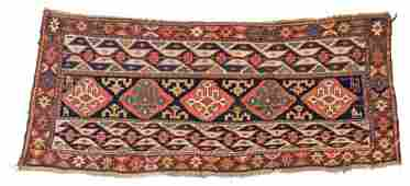SHAHSAVAN SUMAKH PANEL 97 x 39 cm (3ft. 2in. x 1ft.