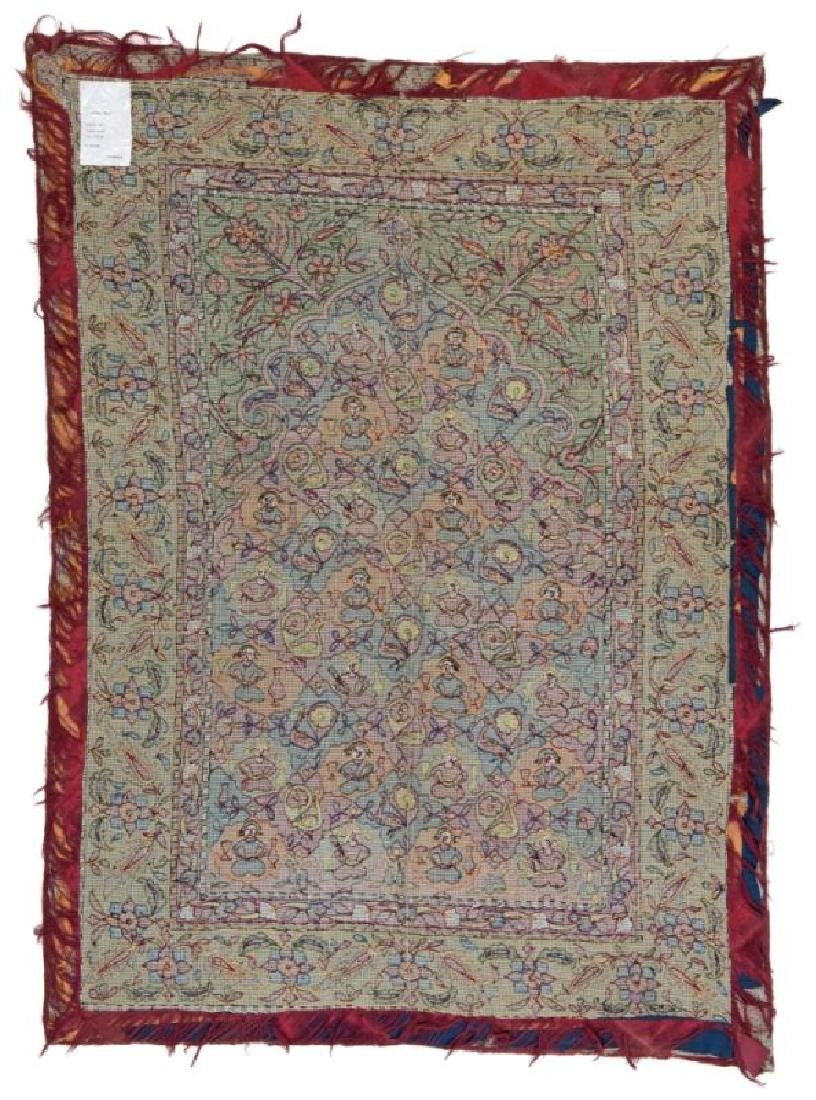 AZERBAIJAN EMBROIDERY 175 x 127 cm (5ft. 9in. x 4ft. - 2