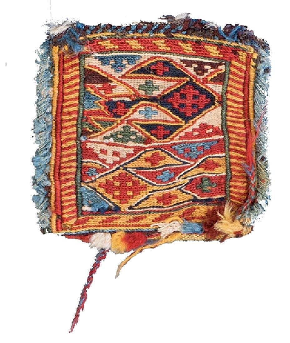 SHAHSAVAN SUMAKH BAG 14 x 14 cm (5in. x 5in.)