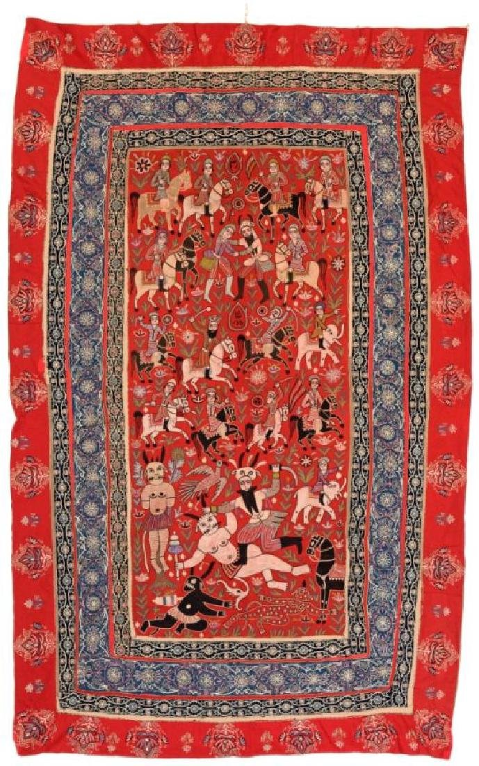 RASHT EMBROIDERY 225 x 143 cm (7ft. 5in. x 4ft. 8in.)