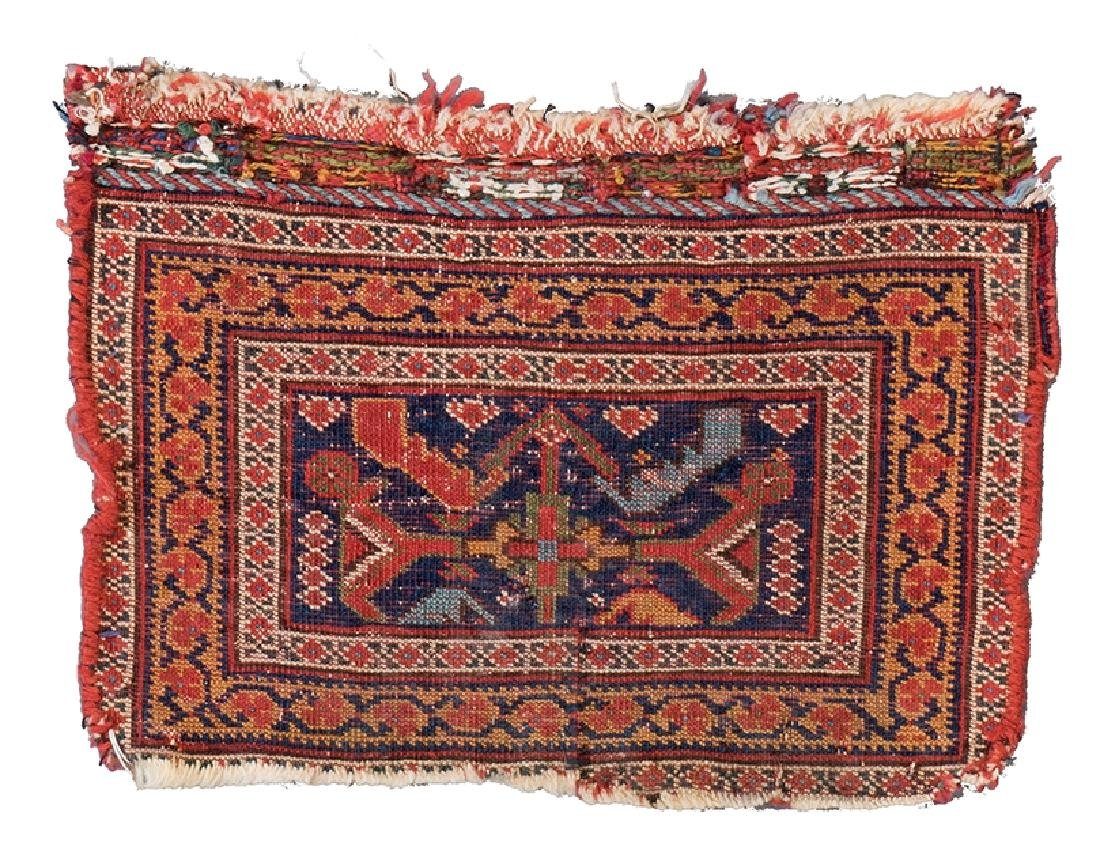 AFSHAR BAG FACE 30 x 22 cm (1ft. x 9in.) Persia, second - 2