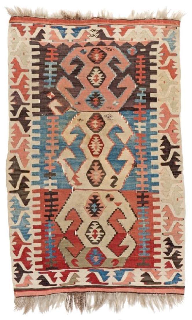 KONYA KILIM 122 x 80 cm (4ft. x 2ft. 7in) Turkey, late