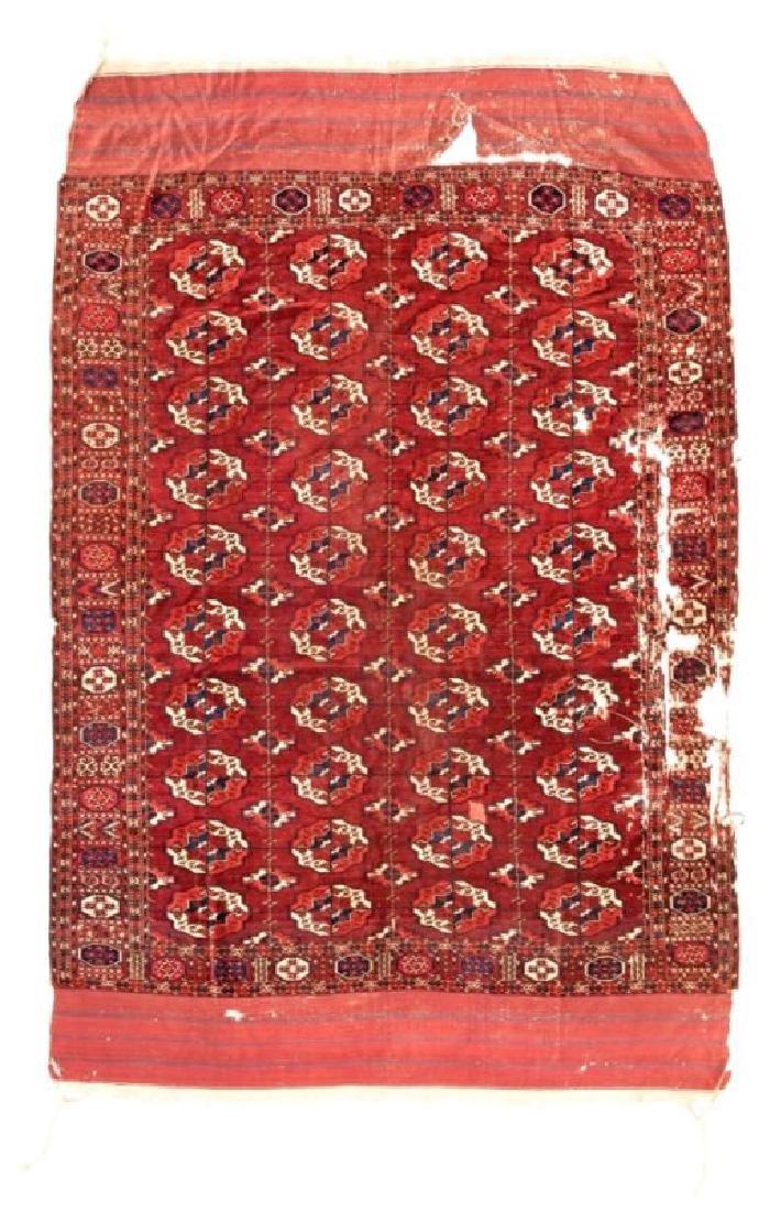 TEKKE MAIN CARPET 241 x 201 cm (7ft. 11in. x 6ft. 7in.)