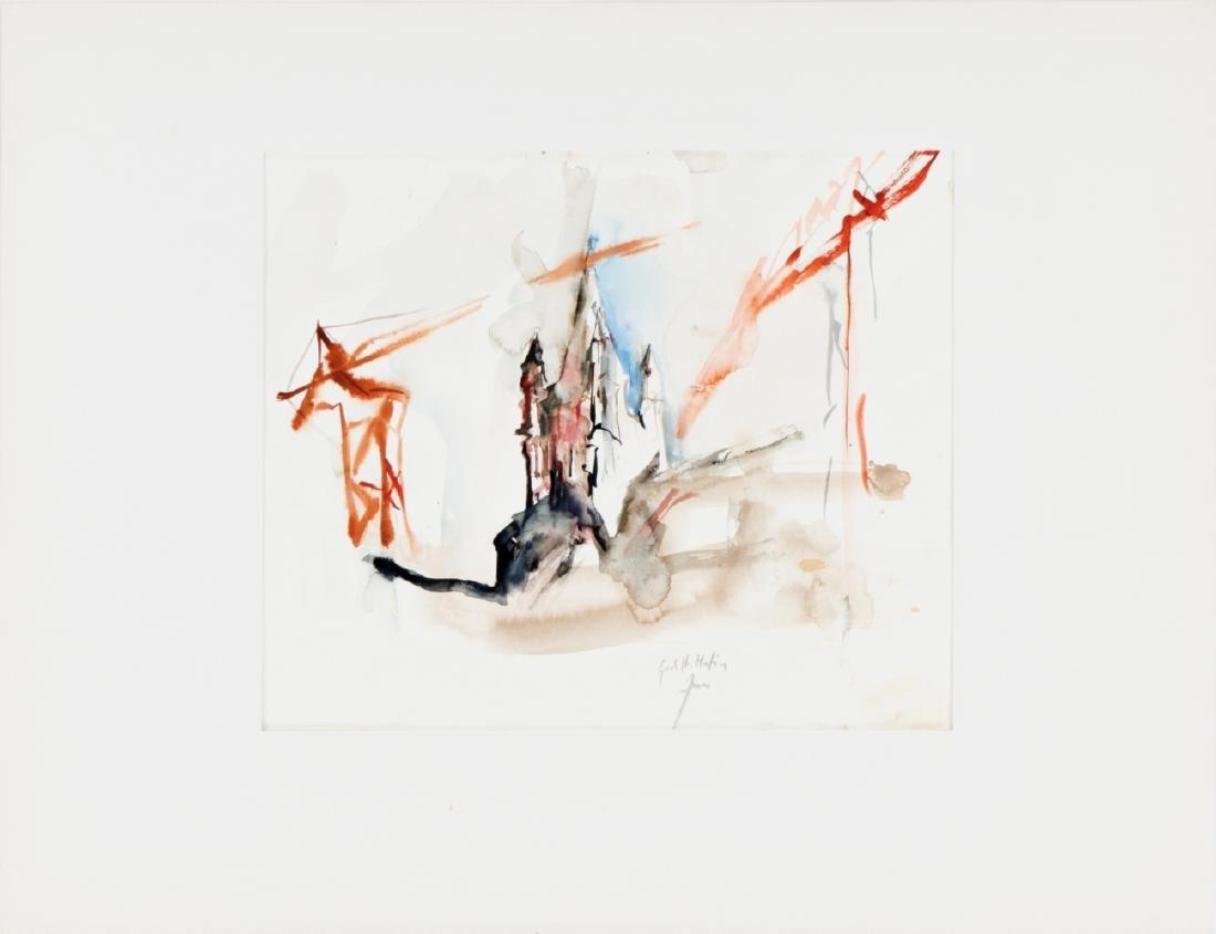HERWIG ZENS (1943 HIMBERG) GROSS ST. MARTIN, 1983