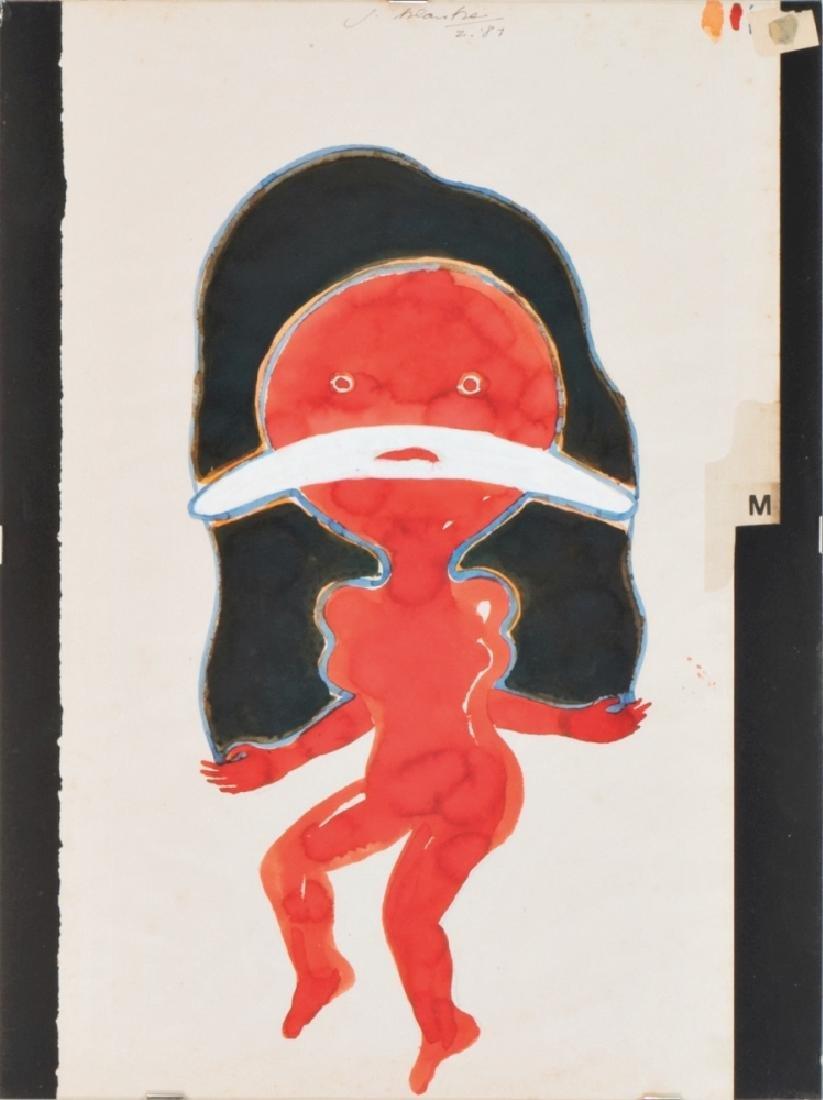 JÜRGEN KLAUKE (1943 KLIDING BEI COCHEM) o. T., 1987