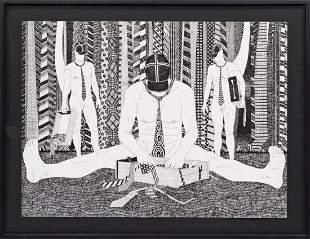 MOUSSA KONE (1978 Scheibbs) OUT OF THE CLOSET, 2012