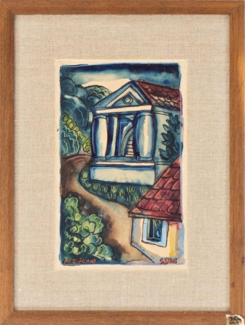 FRANZ VON ZÜLOW (1883 WIEN - 1963 WIEN) o. T., 1923