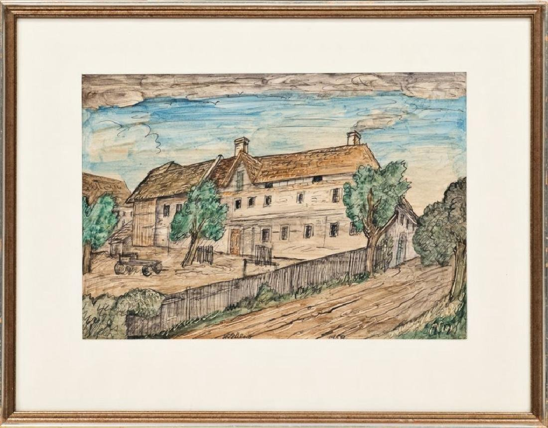 FRANZ VON ZÜLOW (1883 Wien - 1963 Wien) o. T., 1950