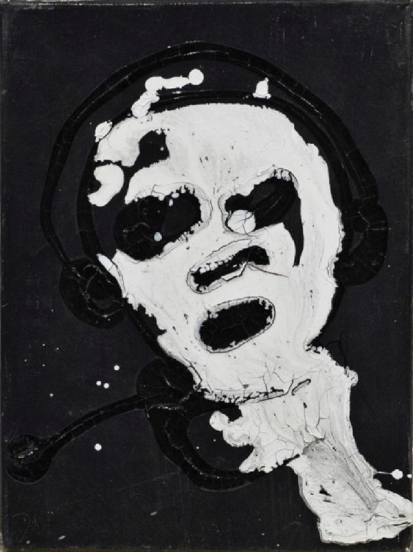 CHRISTIAN EISENBERGER (1978 SEMRIACH) PS I, 2008 Acryl