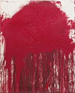 HERMANN NITSCH (1938 WIEN) o. T., 2007 Acryl auf Jute,