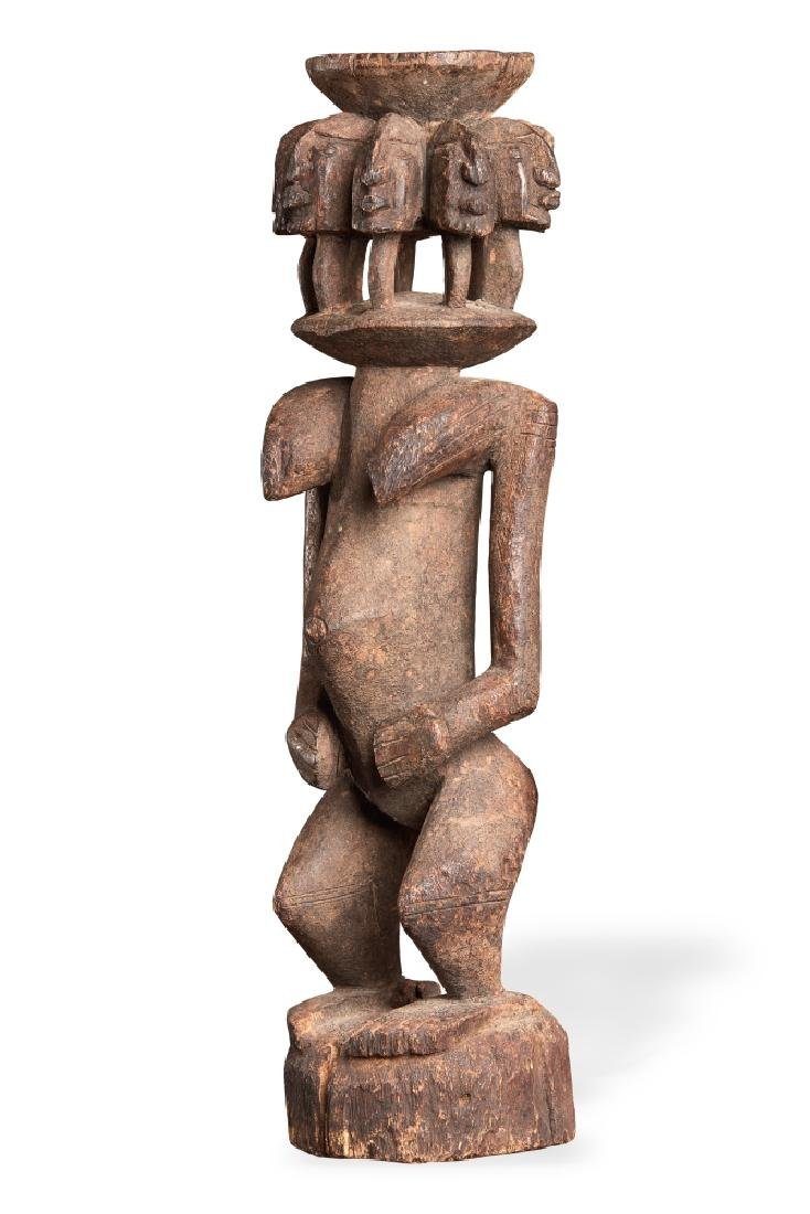 Important Dogon Figure Mali H: 44.5 cm (approx. 1' 6'')