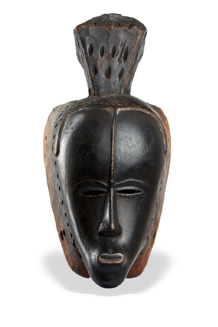 Important Guro Mask Ivory Coast
