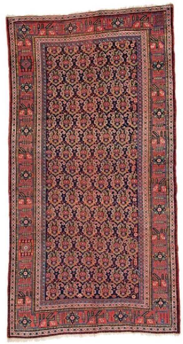Afshar Carpet maß? Persia, ca. 1900 Condition: good,