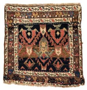 Jaff Bagface 53 x 50 cm 1ft 9in X 1ft 8in Persia