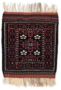 Baluch 60 x 45 cm 2ft X 1ft 6in Persia ca 1920