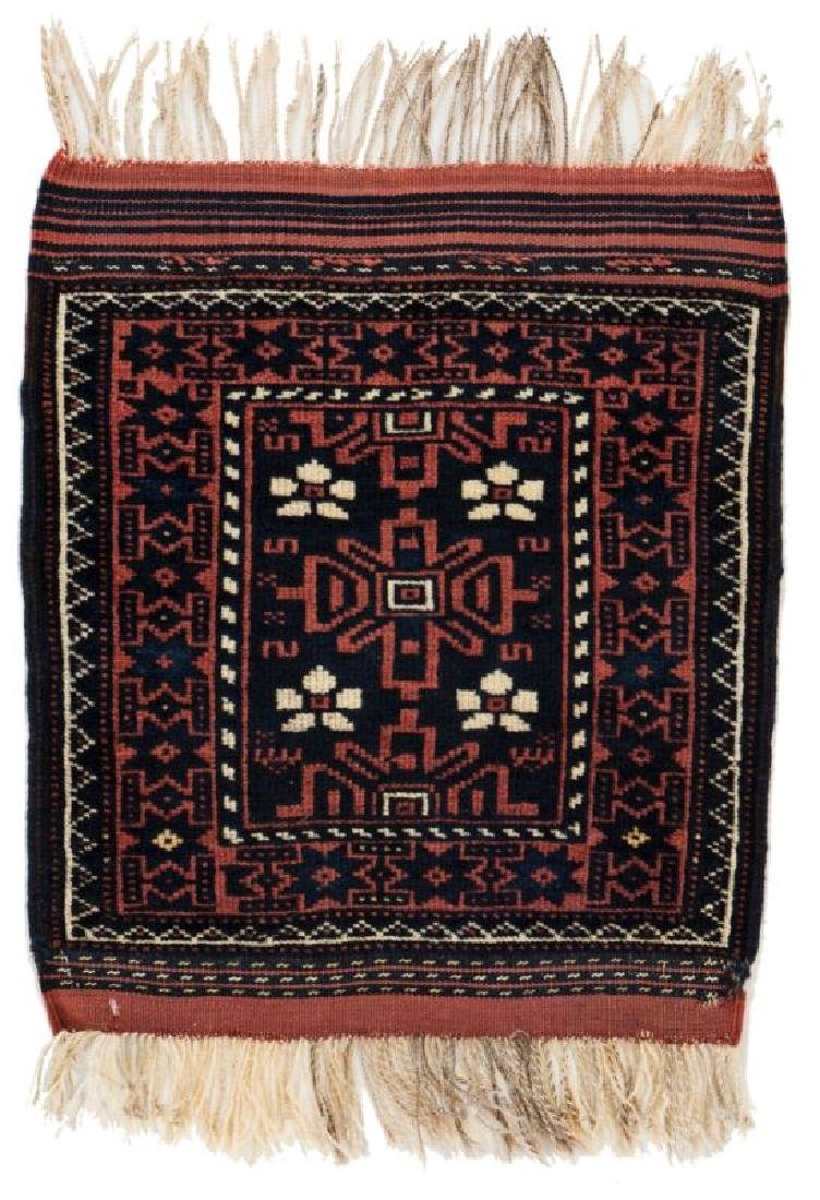 Baluch 60 x 45 cm (2ft. X 1ft. 6in.) Persia, ca. 1920