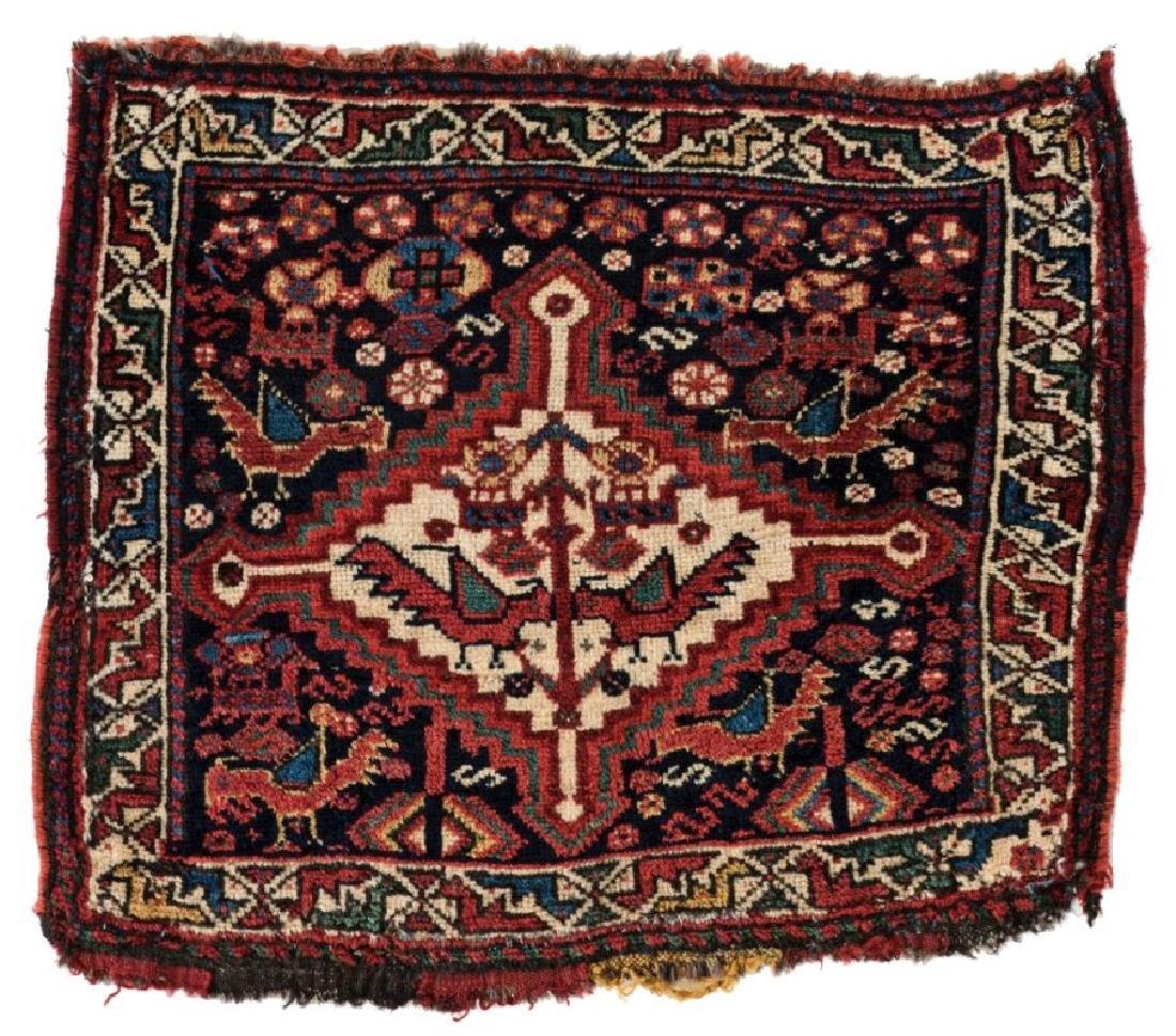 Chamseh Bagface 62 x 50 cm (2ft. X 1ft. 8in.) Persia,