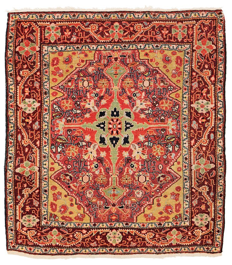 Josan 80 x 70 cm (2ft. 7in. X 2ft. 4in.) Persia, ca.