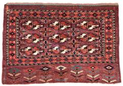 Yomut Chuval 112 x 87 cm (3ft. 8in. X 2ft. 10in.)