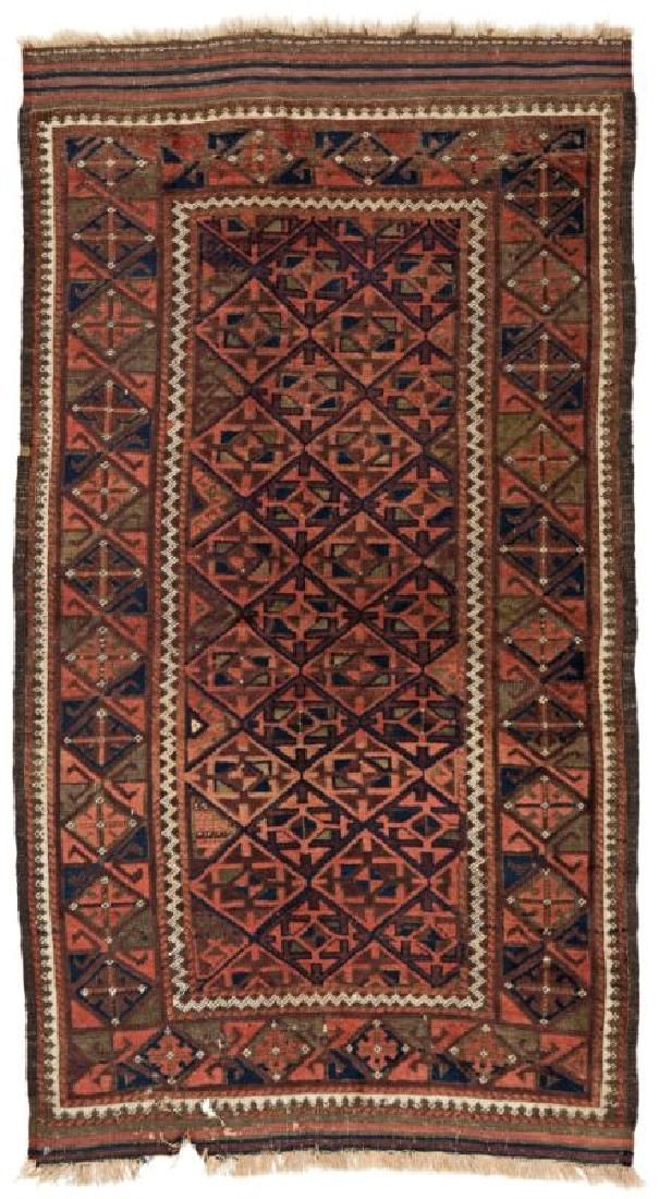 Baluch 190 x 105 cm (6ft. 3in. X 3ft. 5in.) Persia,