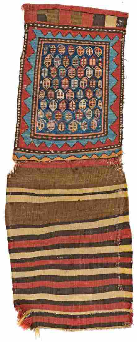 Pair of Meshkin Sumakh Bagfaces 120 x 38 cm & 120 x 44