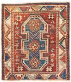 Kazak 127 x 108 cm (4ft. 2in. X 3ft. 7in.) Caucasus,
