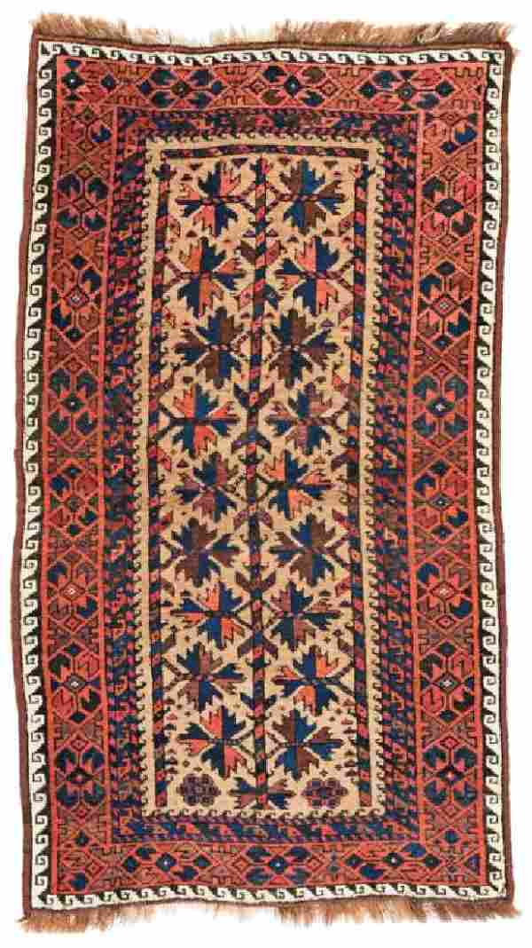 Baluch 140 x 75 cm (4ft. 7in. X 2ft. 6in.) Persia, ca.