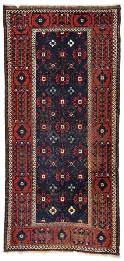 Baluch 210 x 97 cm (6ft. 11in. X 3ft. 2in.) Persia, ca.