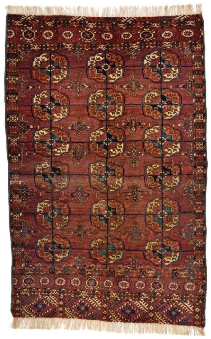 Tekke 155 x 92 cm (5ft. 1in. x 3ft.) Turkmenistan,