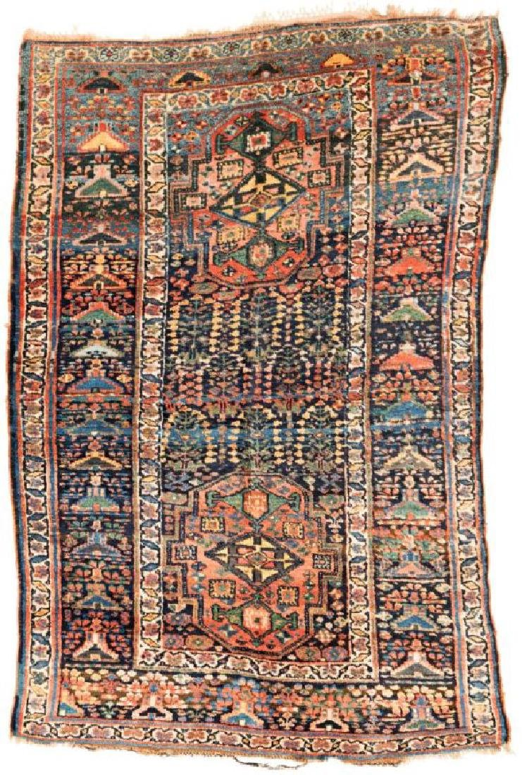 Saujbulag 223 x 147 cm (7ft. 4in. X 4ft. 10in.) Persia,