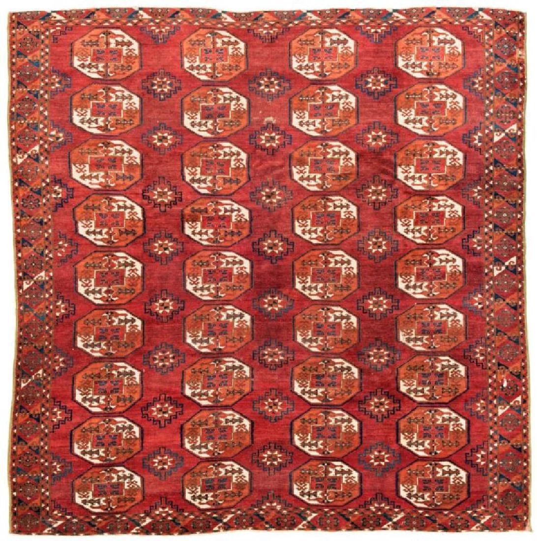 Saryk Main Carpet 230 x 224 cm (7ft. 7in. X 7ft. 4in.)