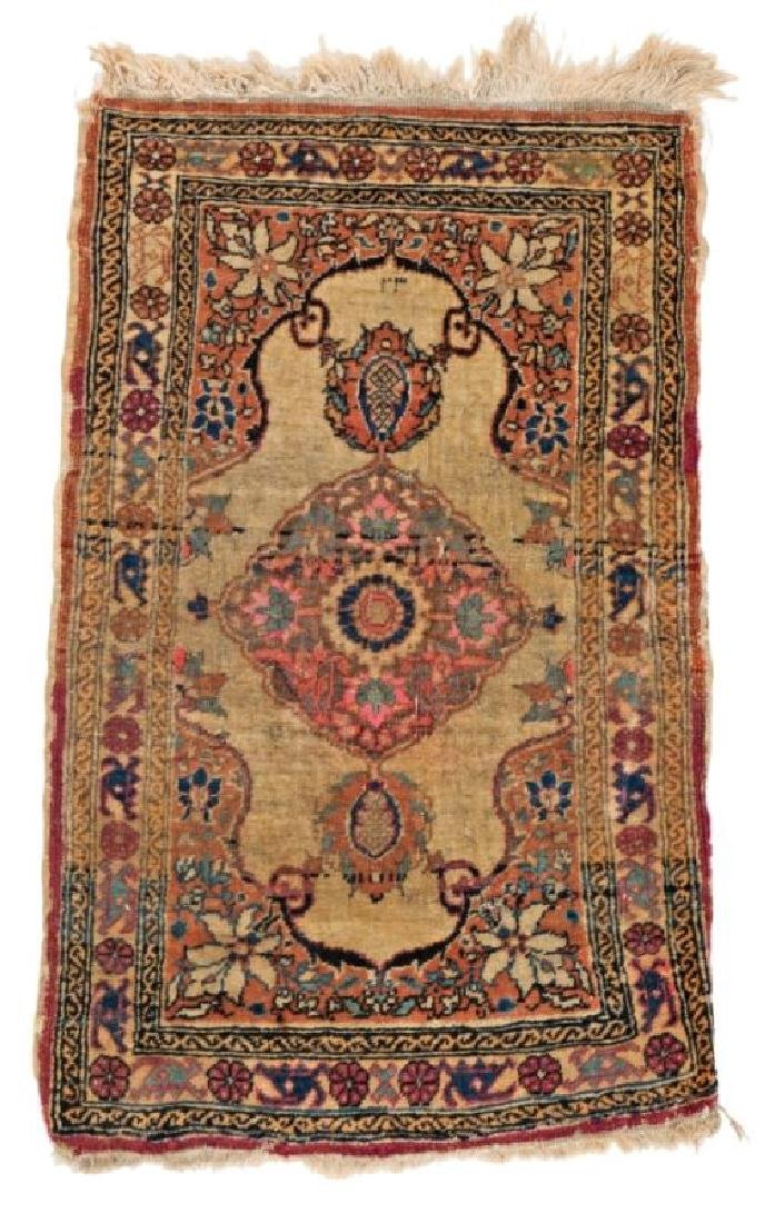 Tabriz 85 x 50 cm (2ft. 9in. X 1ft. 8in.) Persia, early