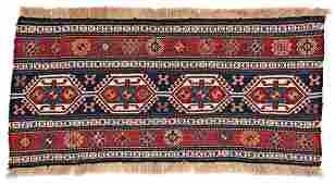 Shahsavan Sumakh Panel 115 x 60 cm (3ft. 9in. X 2ft.)