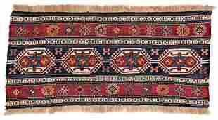 Shahsavan Sumakh Panel 115 x 60 cm 3ft 9in X 2ft