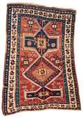 Kazak 138 x 105 cm (4ft. 6in. X 3ft. 5in.) Caucasus,