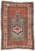 Kazak Prayer Rug 153 x 106 cm (5ft. X 3ft. 6in.)