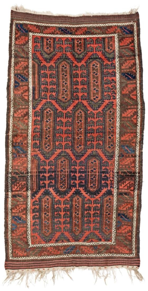 Baluch 205 x 79 cm (6ft. 9in. X 2ft. 7in.) Persia, ca.