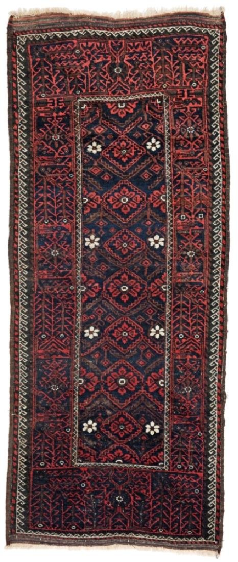 Baluch 240 x 97 cm (7ft. 10in. X 3ft. 2in.) Persia,