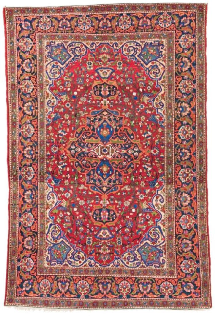 Isfahan 208 x 137 cm (6ft. 10in. X 4ft. 6in.) Persia,