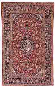 Kashan 213 x 136 cm 7ft X 4ft 6in Persia ca 1950